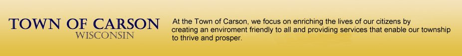 Town of Carson